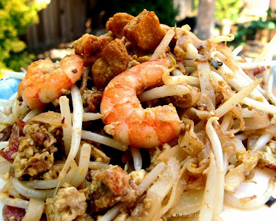 char koay teow plated
