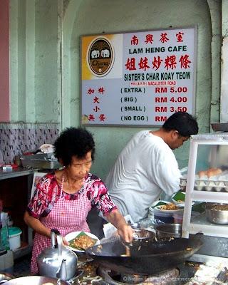 Sisters char koay teow Penang