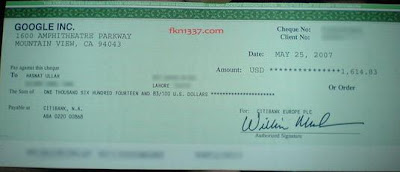 my adsense earnings check
