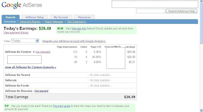 google adsense revenue proof