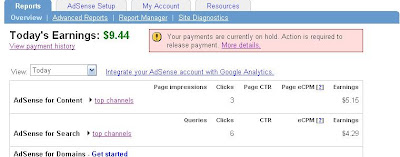 adsense payments sample