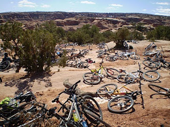 Bikes at Gemini Bridges