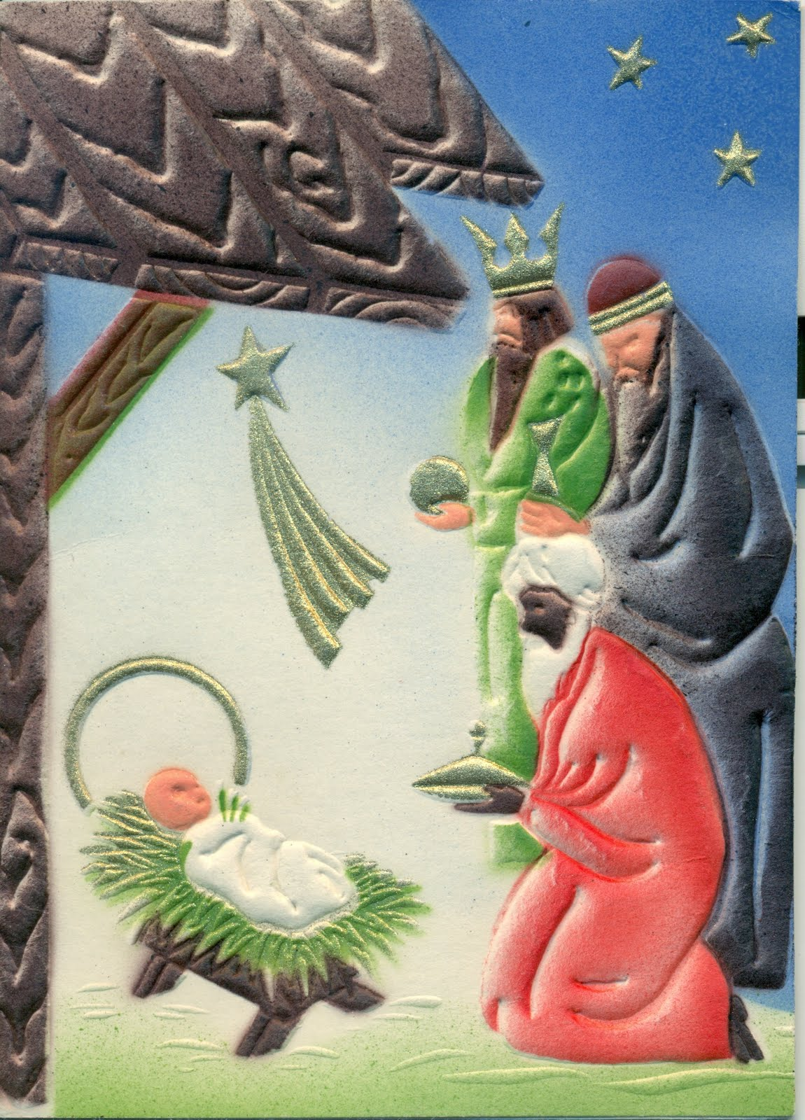 Heritage Zen:: Advent Calendar: Christmas Cards from Poland and Germany