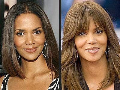 halle berry with long hair