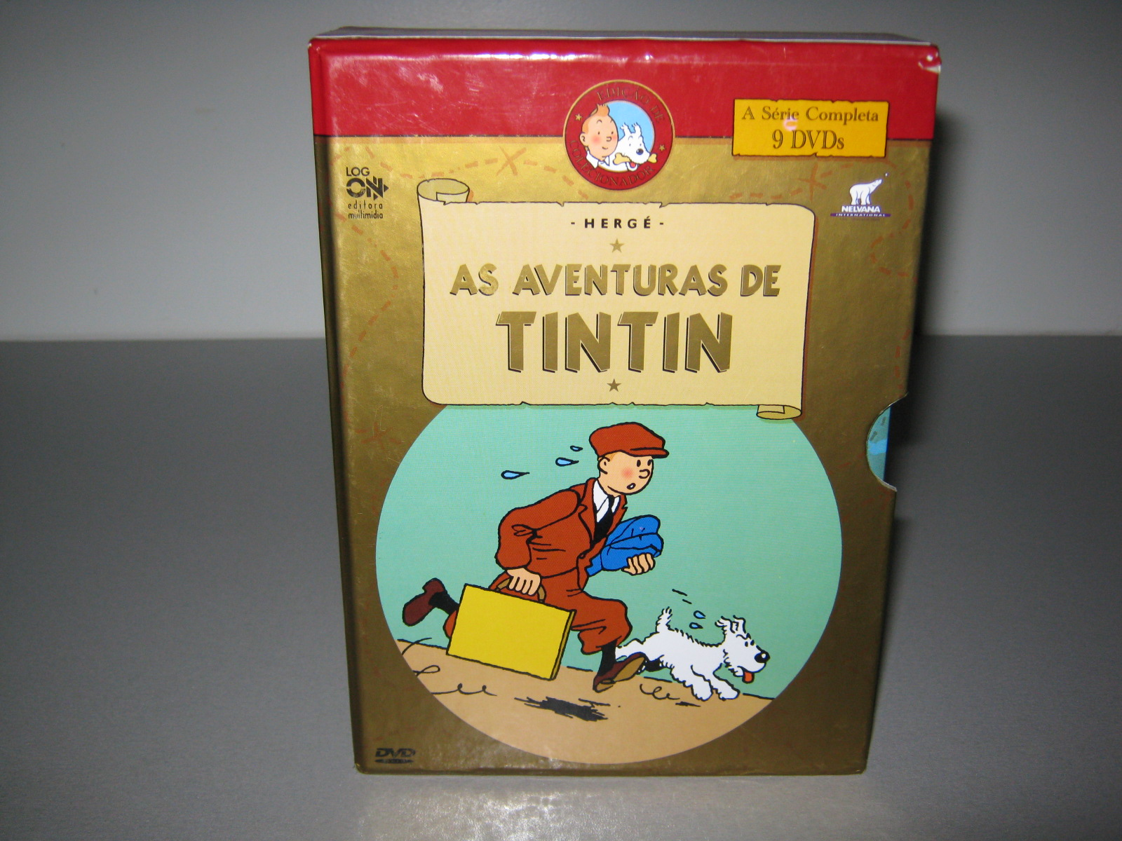 rafael f 39 s dvd bd collection aventuras de tintin as a. Black Bedroom Furniture Sets. Home Design Ideas