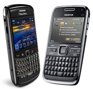 Nokia E72 or the Bold 9700