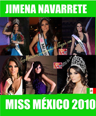 Jimena Navarette, the winner miss universe 2010