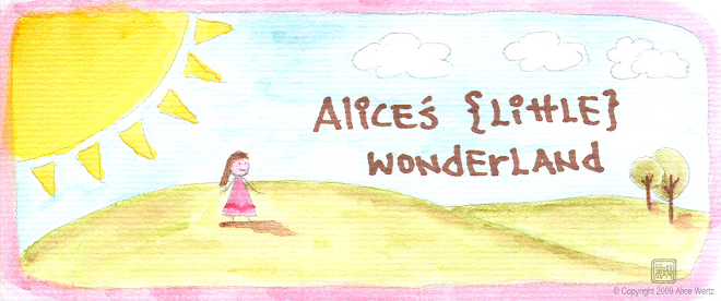 Alice&#39;s {Little} Wonderland