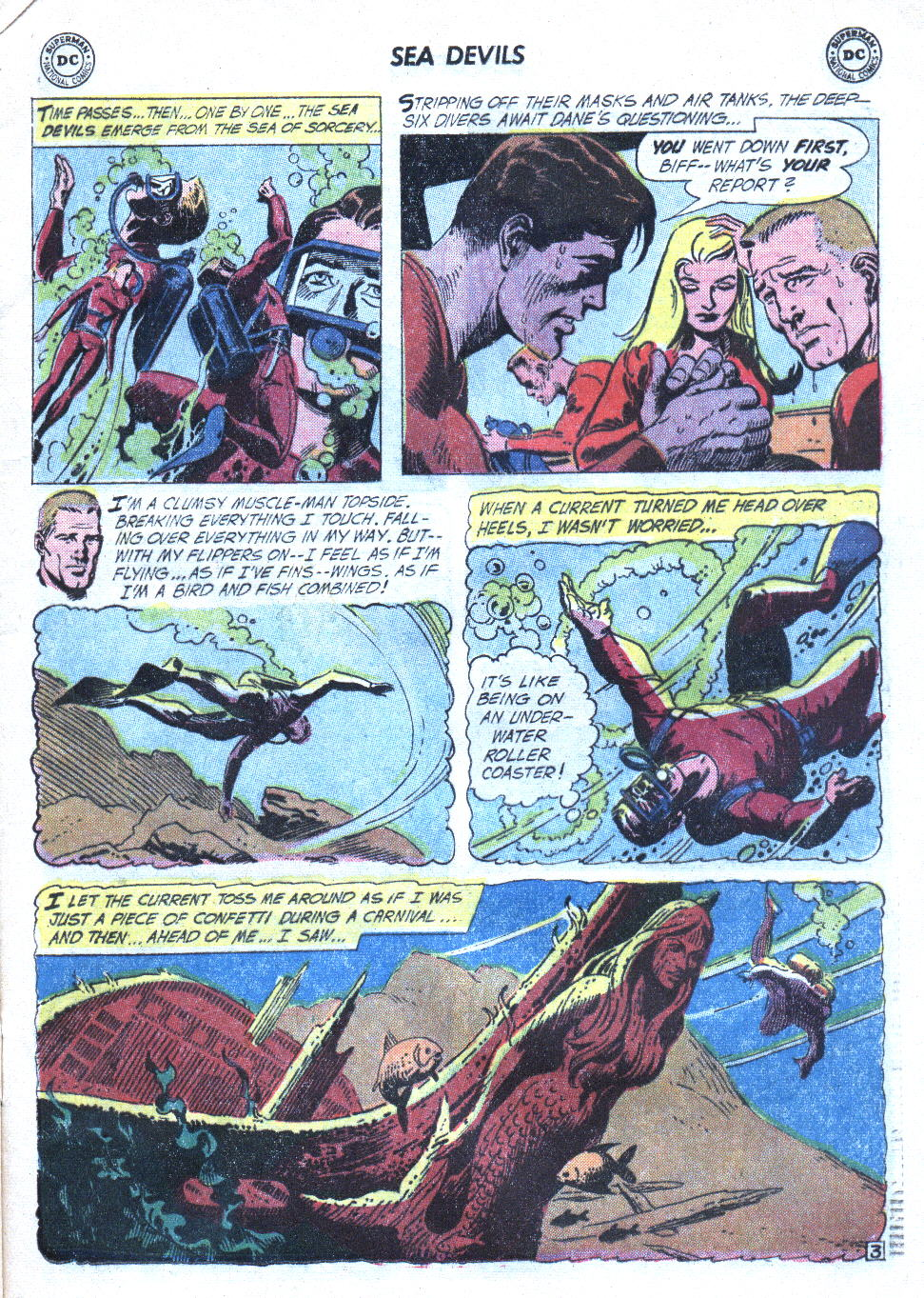 Read online Sea Devils comic -  Issue #4 - 6