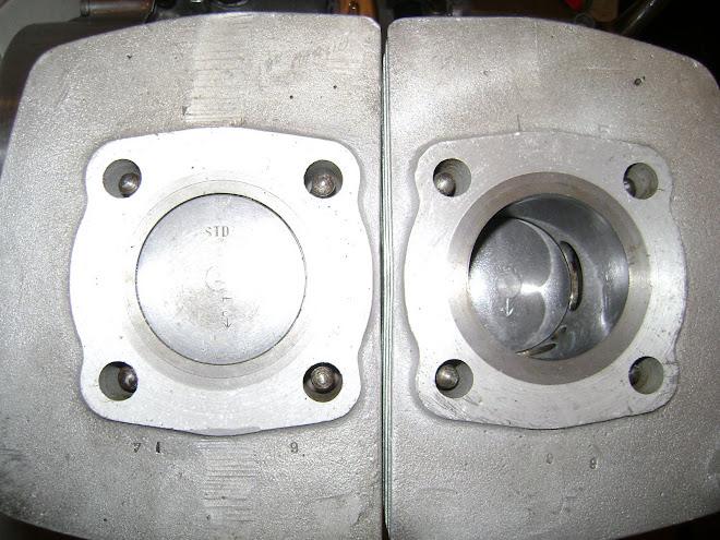 cilindros encamisados e pistoes STD.