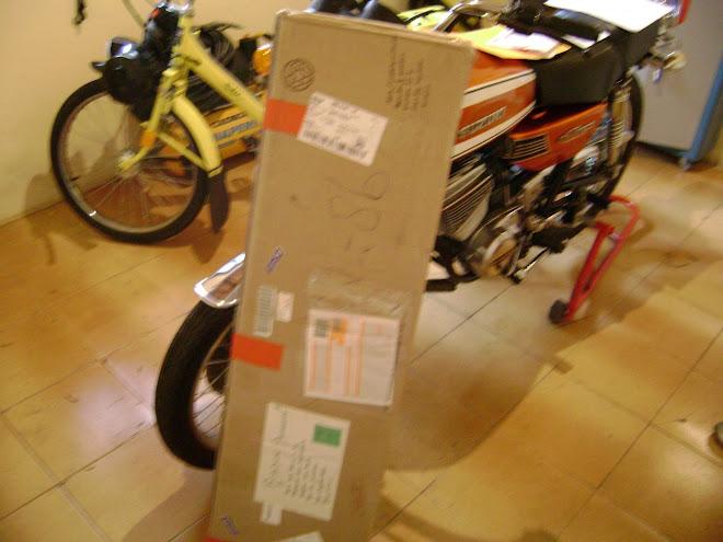 Enfim o correio chegou....