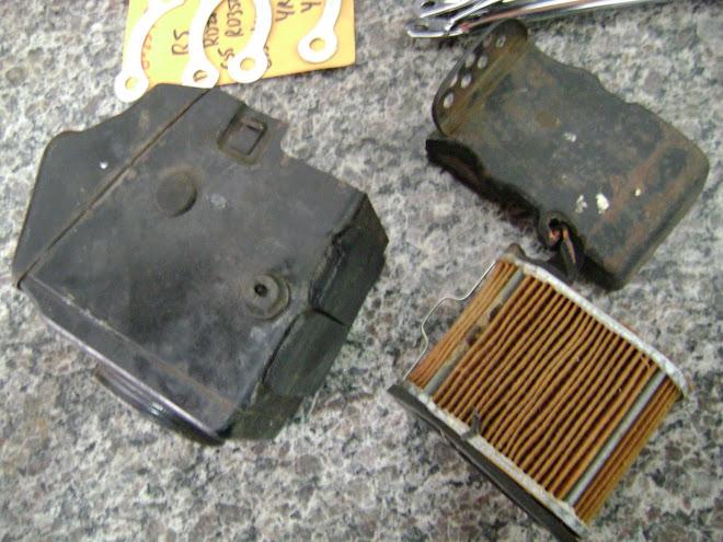 caixa do filtro de ar