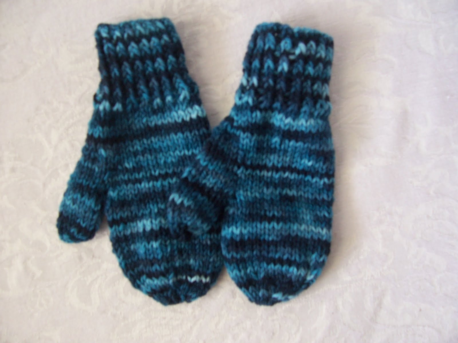 Knitting Pattern For Children s Mittens On Two Needles : Knitting for Peace: Childrens Mittens