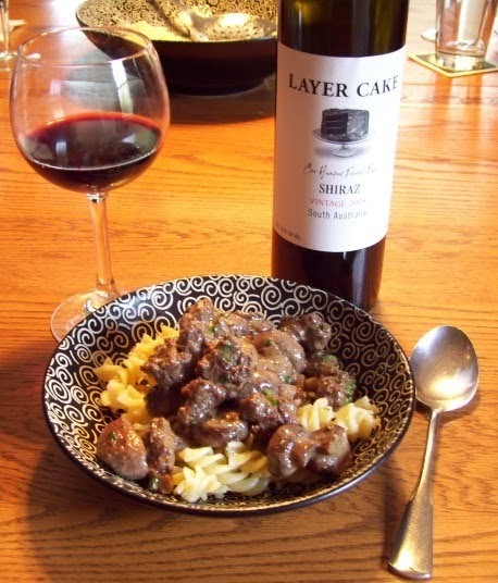 Heavy Red Wine : The flaming chef heavy cream beef mushrooms red wine