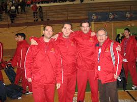 Cuerpo Técnico Selección Infantil FBRM Cáceres 09