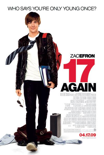 Poster_Zac Efron en 17 Otra Vez