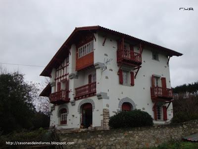 Casonas de indianos 38 casa de eduardo garc a valverde llanes - Casas pais vasco ...