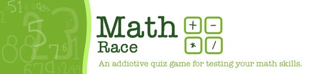 Math Race iPhone App