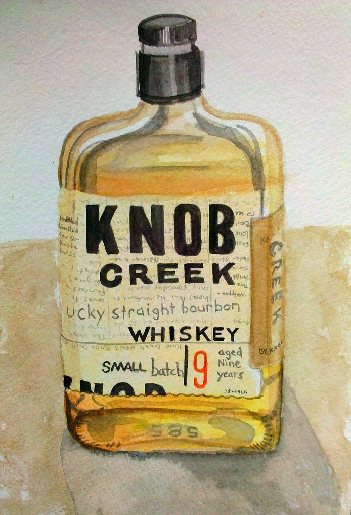 how to drink knob creek