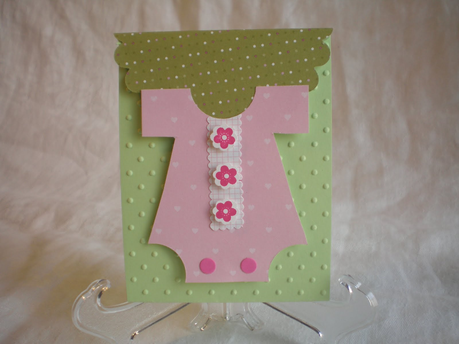 two happy stampers baby shower gift cards