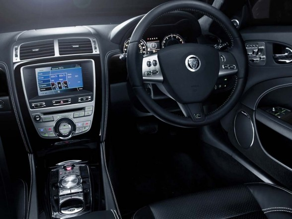 Luxury Car Interior Jaguar XKR 2011