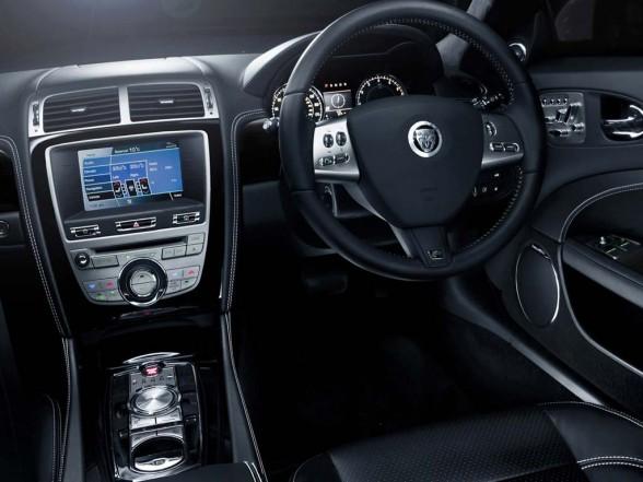 Luxury Car Interior Jaguar XKR 2011