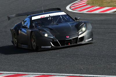 2012 Honda HSV-010 GT performance