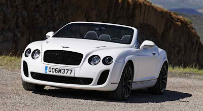 Bentley Continental Supersports Convertible Car Design