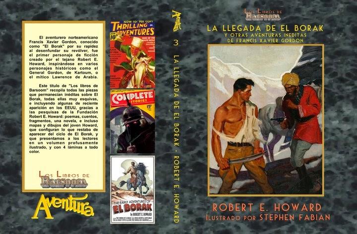 Literatura de Serie B  La+llegada+de+El+Borak,+de+Robert+E.+Howard,+en+la+edici%C3%B3n+de+Los+libros+de+Barsoom