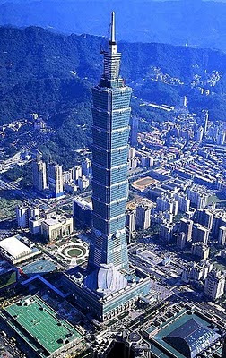 Il Taipei 101 di Taiwan