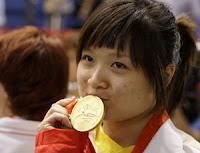 Guo Wenjun, oro a Pechino, ora cerca suo padre
