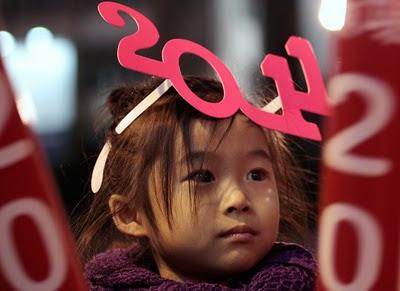 Capodanno 2011 a Hong Kong, Cina