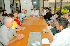 Reunião com lideranças/Guatupê.