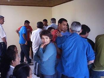 Encontro reune grande grupo de amigos do repórter Régis Santos