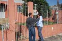 Regis Santos e Acioll buscando votos 2010