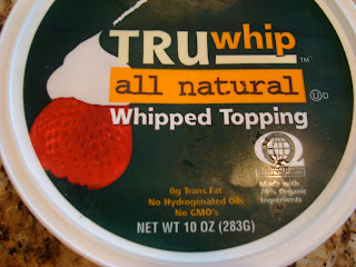 TruWhip All Natural Whipped Topping Container
