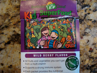 Kidz Amazing Grass Wild Berry Flavor Package