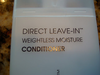 Close up of label of Conditioner