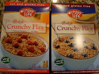Enjoy Life Crunchy Flax and Crunchy Rice Cereals