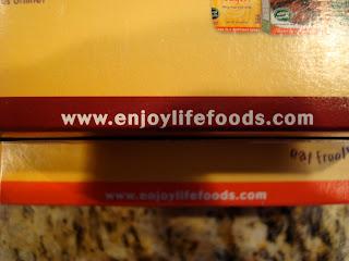 Enjoy Life Foods website information