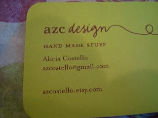 azc design business card
