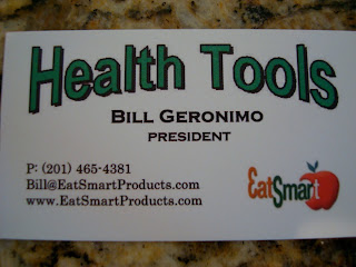 Business Card for Health Tools