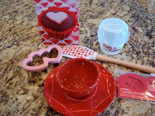 Valentines Day Gift set of kitchen utensils