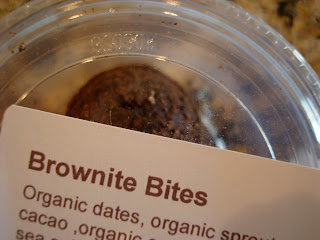 Container of Brownie Bites
