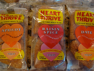 Heart Thrive Vegan Products in packaging