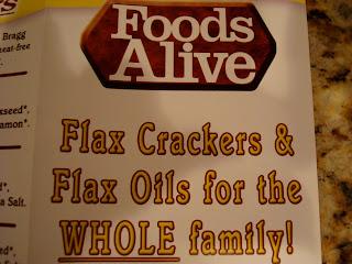 Foods Alive pamphlet