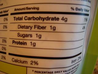 Maca Powder Nutrion Facts