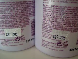 PureOlogy shampoo and conditioner