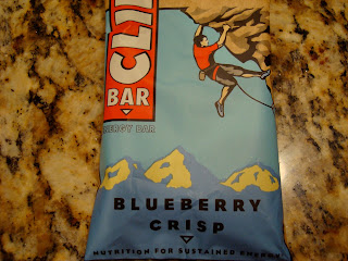 Blueberry Crisp Clif Bar in wrapper