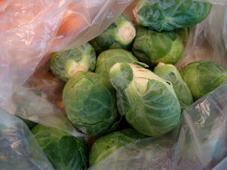 Brussel Sprouts in bag
